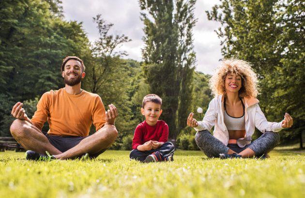 Think of mindfulness meditation like mental push-ups.