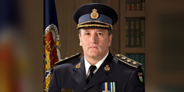 Brad Blair has been fired from his role as deputy commissioner of the Ontario Provincial