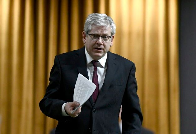 NDP MP Charlie Angus speaks during an emergency debate in response to former justice minister and attorney...