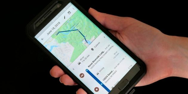 Users of Google Maps will receive a heads-up as they approach a photo radar