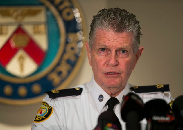 Supt. Ron Taverner speaks to reporters in Toronto in a 2013 file