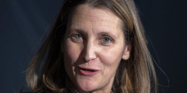 Chrystia Freeland Defends Trudeau As 'Feminist' Boss After Key