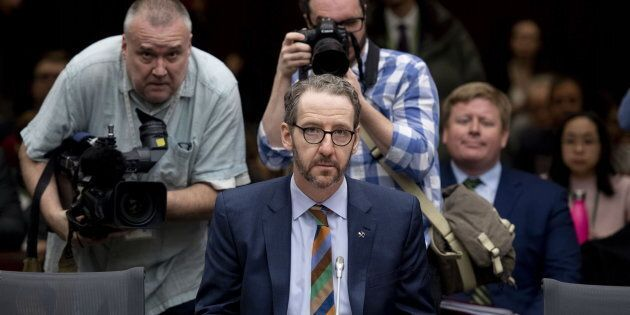 Gerald Butts, former principal secretary to Prime Minister Justin Trudeau, appears before the Standing...