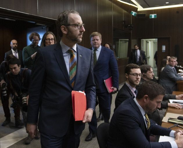 Gerald Butts arrives at the House of Commons justice committee to testify on the ongoing SNC-Lavalin