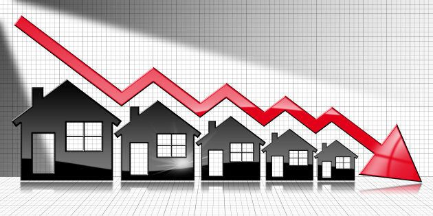 Housing market slumps like the one Canada is seeing usually happen in recessions, BMO says.