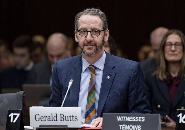 Gerald Butts, former principal secretary to Prime Minister Justin Trudeau, prepares to appear a Commons...