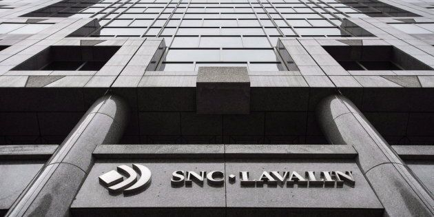 The headquarters of SNC-Lavalin is seen on Nov. 6, 2014 in