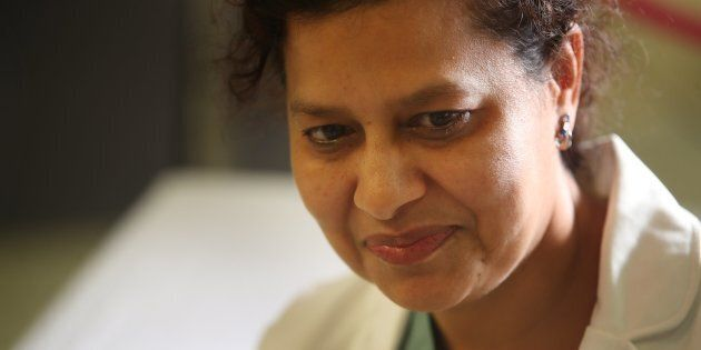 Dr. Najma Ahmed is the head of the trauma unit at St. Mike's and treated victims of the Danforth