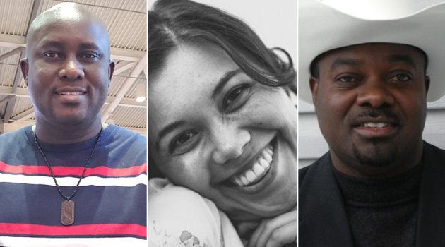 L to R: Pius Adesanmi, Danielle Moore and Derick Lwugi were some of the Canadians identified in the deadly...