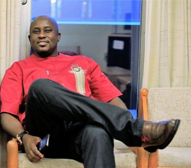 A photo of Pius Adesanmi taken from his Facebook