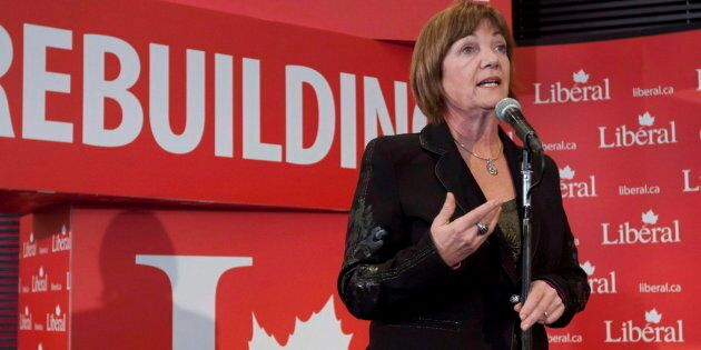 Former deputy prime minister Sheila Copps at a Liberal Party convention on Jan. 13, 2012.