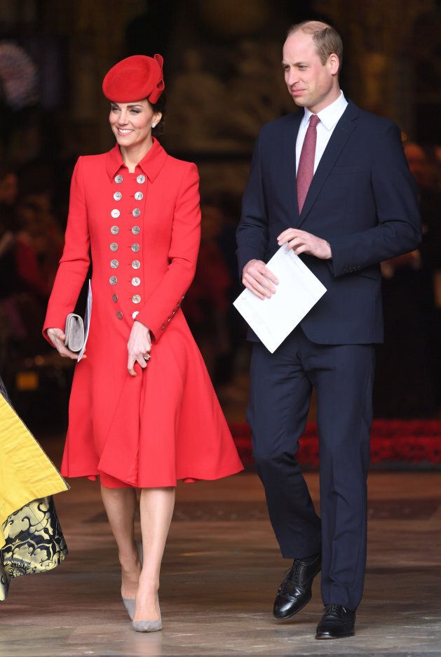 The Duke and Duchess of Sussex at Westminster Abbey on