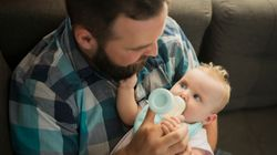 Dads Can Take 5 Weeks Of Shared Parental Leave. Here's Why They