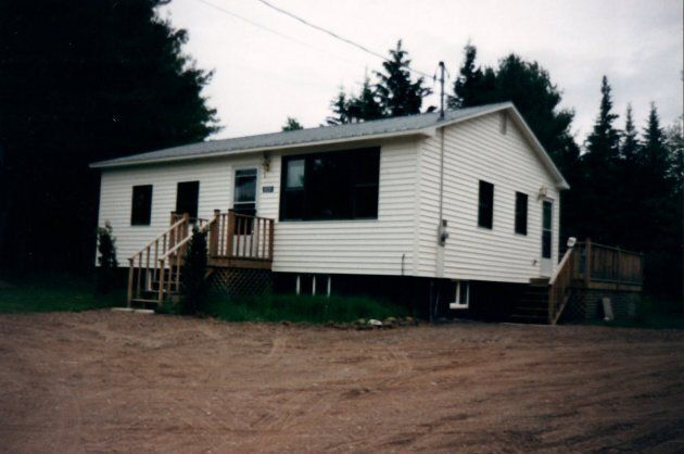 Our house in Taymouth.