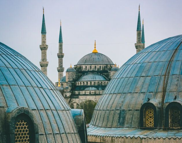Sultan Ahmed Mosque in Istanbul,