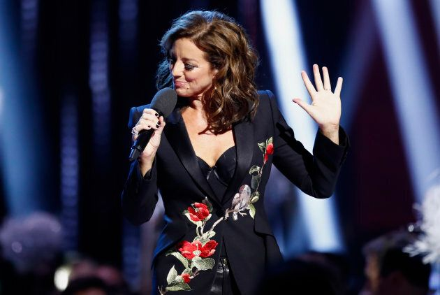 Host Sarah McLachlan couldn't resist taking a dig at Donald Trump during her opening speech at the Junos....