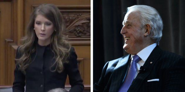 Ontario MPP Amanda Simard says former prime minister Brian Mulroney's comments about