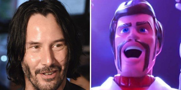 Keanu Reeves plays Duke Caboom, Canada's greatest stuntman,