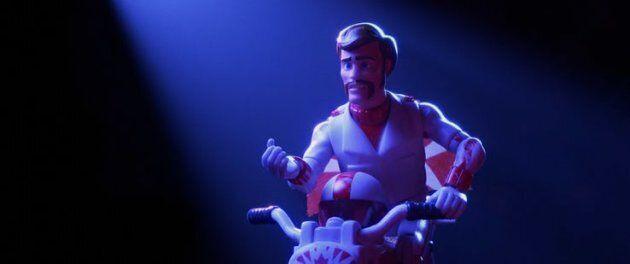 Keanu Reeves as Duke Caboom, Canada's greatest stuntman, in