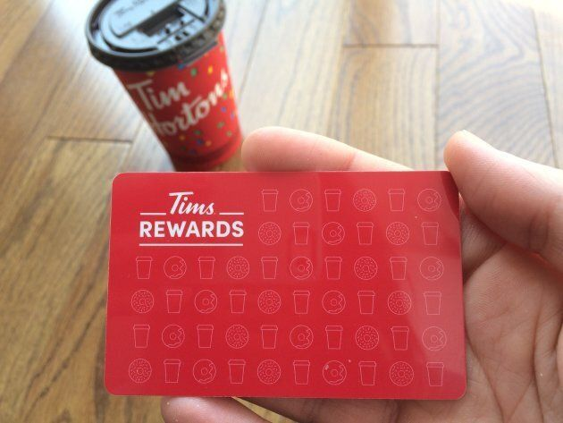 Tim Hortons has launched its own rewards program for
