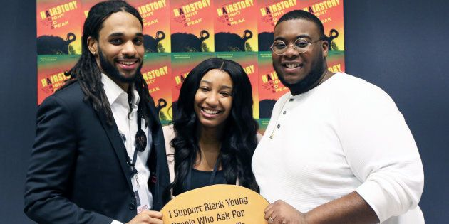 Richard Marcano (left), Smyrna Wright and Kishaun Lalor wrote or contributed to the HairStory report,...