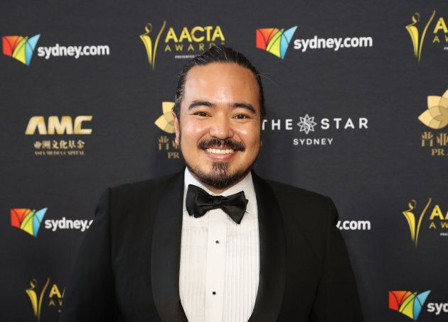 Adam Liaw attends the 7th AACTA Awards on Dec. 6, 2017 in Sydney,