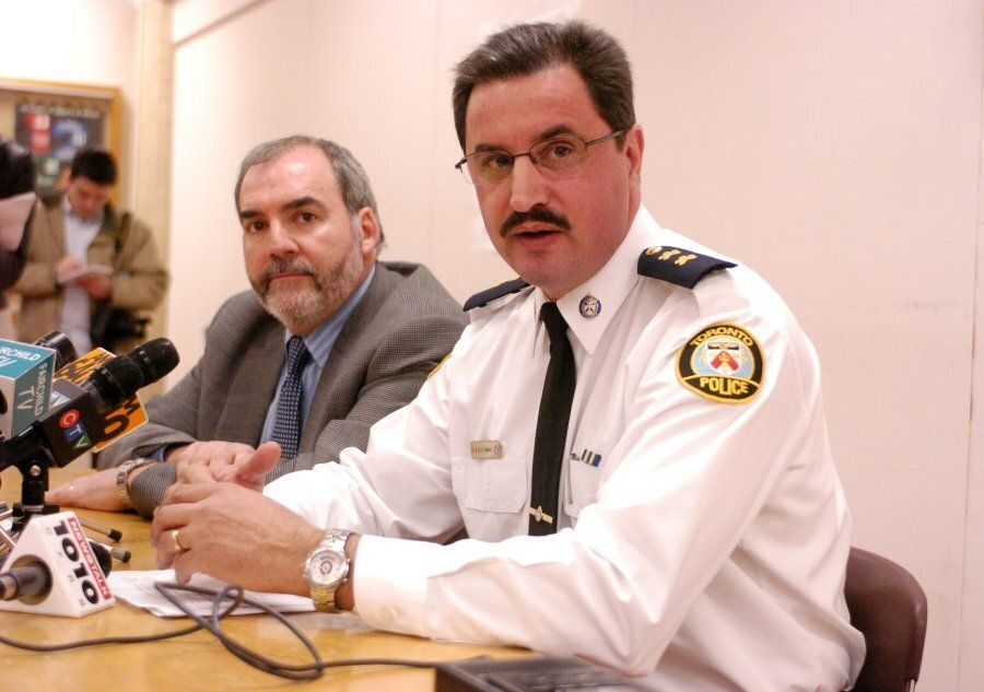 Mario Di Tommaso, right, is the deputy minister of community safety. Matt Torigian, the former deputy...