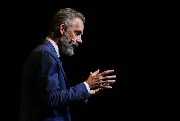 Jordan Peterson speaks at ICC Sydney Theatre on Feb. 26, 2019 in Sydney,
