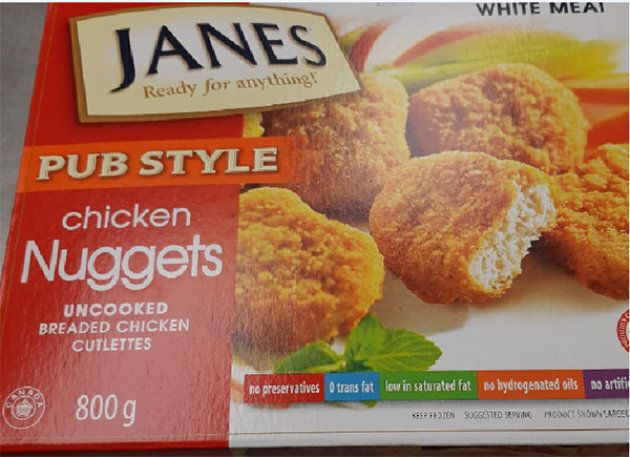 Janes chicken nuggets are being recalled over a potential salmonella