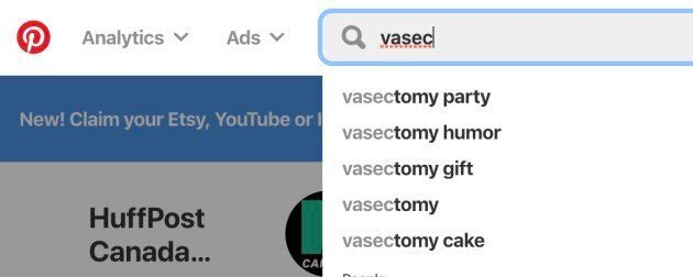 You barely even have to try in order to find vasectomy cakes on Pinterest. There are also plenty of options...