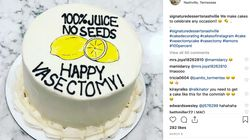 Getting A Vasectomy? There's A Cake For