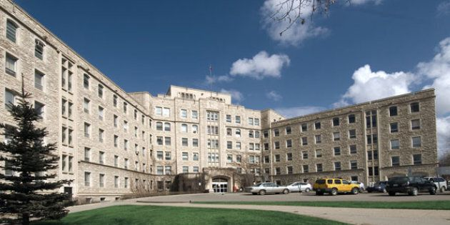 The Royal University Hospital on the University of Saskatchewan