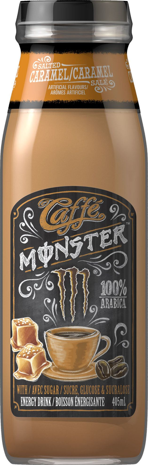 Monster Energy has chosen to recall their salted caramel Caffé Monster