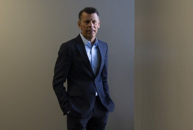 Canadian Labour Congress President Hassan Yussuff poses for a photo, Feb. 14, 2019 in