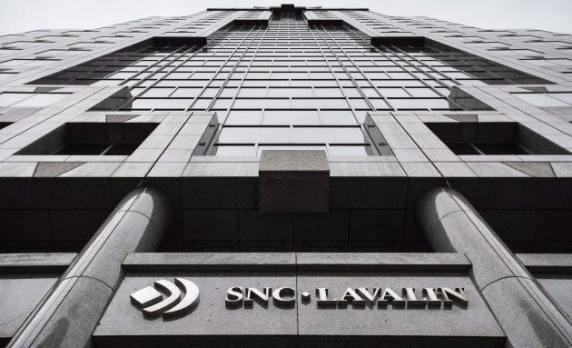 The headquarters of SNC Lavalin is seen on Nov. 6, 2014 in