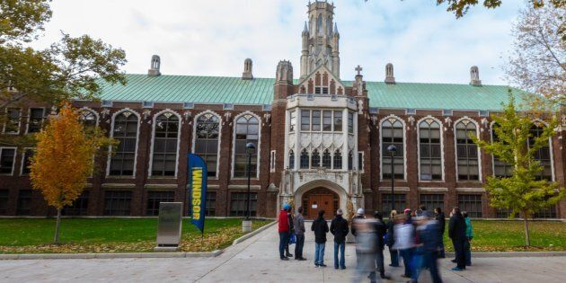 The University of Windsor is alleged to have signed a non-disclosure agreement in relation to an investigation into sexual misconduct allegations.