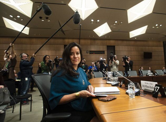 Jody Wilson-Raybould appears at the House of Commons Justice Committee on Parliament Hill in Ottawa on...