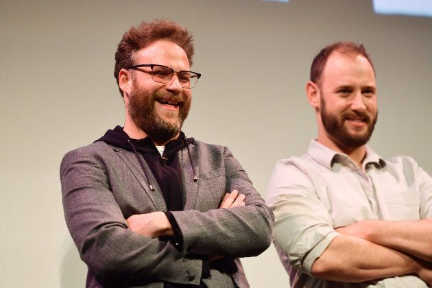 Seth Rogen and Evan Goldberg attend the 'Good Boys' Premiere at the 2019 SXSW Conference at Paramount...
