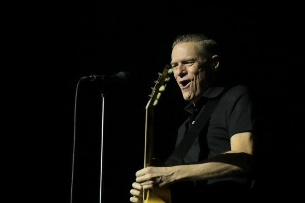 Bryan Adams performs at Spark Arena on March 12, 2019 in Auckland, New