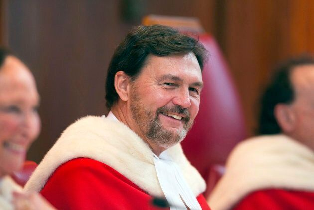Richard Wagner smiles during a ceremony marking his appointment as chief justice of the Supreme Court...