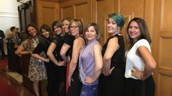 Women Roll Up Sleeves To Protest Dress Code At B.C.