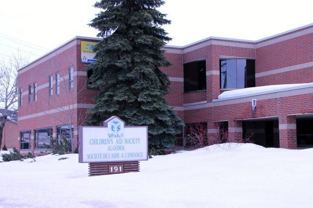 A Children's Aid Society of Algoma office is seen here in Sault Ste. Marie, Ont.
