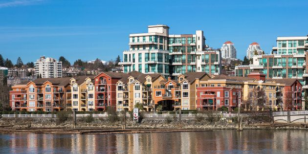 Apartment housing in the Greater Vancouver city of New Westminster. Vancouver's closely-watched housing...