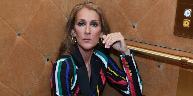 L'Oreal Paris celebrates Celine Dion as the brand's newest global spokesperson on March 18, 2019 in Las...