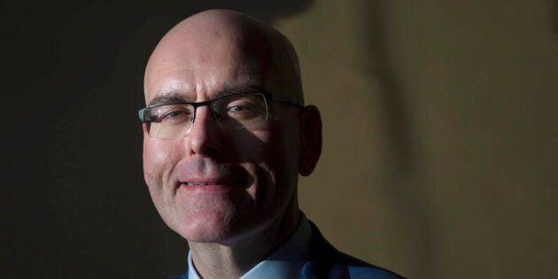 Steven Del Duca is pictured after a swearing-in ceremony after a cabinet shuffle at the Ontario legislature...