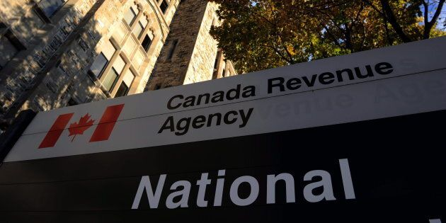 The Canada Revenue Agency headquarters in Ottawa is shown on November 4,