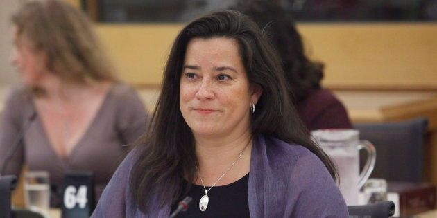 Jody Wilson-Raybould appears at the Senate legal and constitutional affairs committee on June 20, 2018.