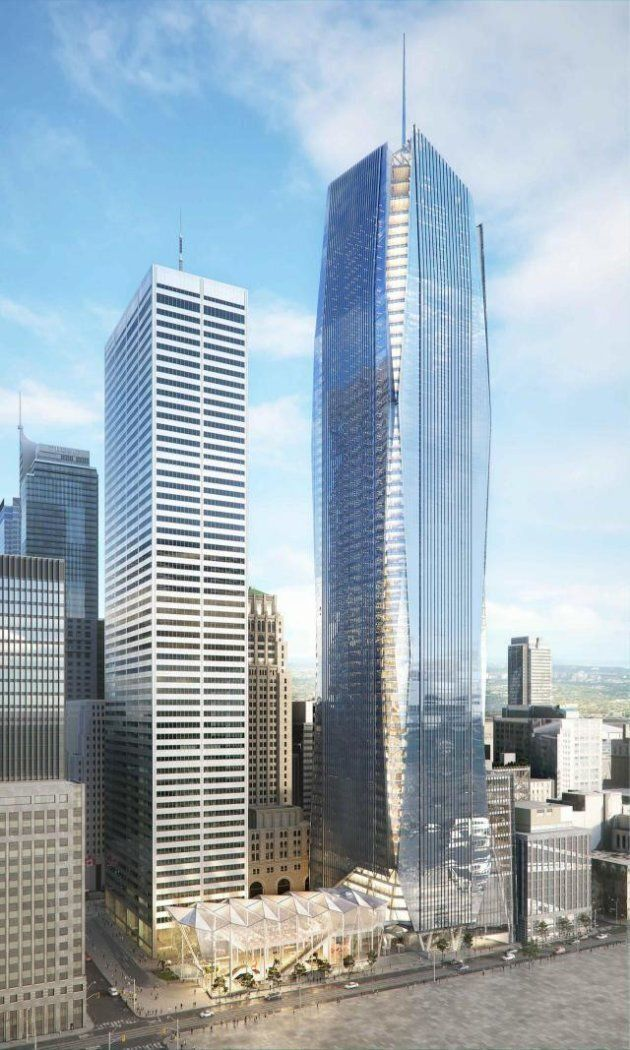 The proposed Commerce Court III office tower in downtown