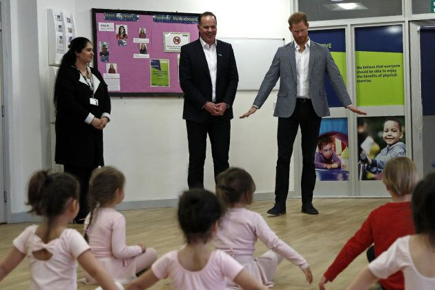Prince Harry Bonds With Baby After Ballet Display, And It's Too Cute For