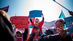 Thousands Protest Ontario Government's Education Cuts At